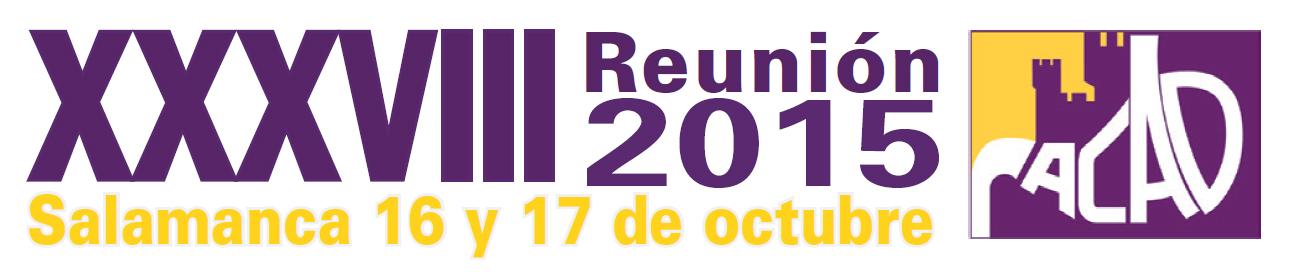 Avance del Programa Científico. XXXVIII Reunión Anual de la ACAD